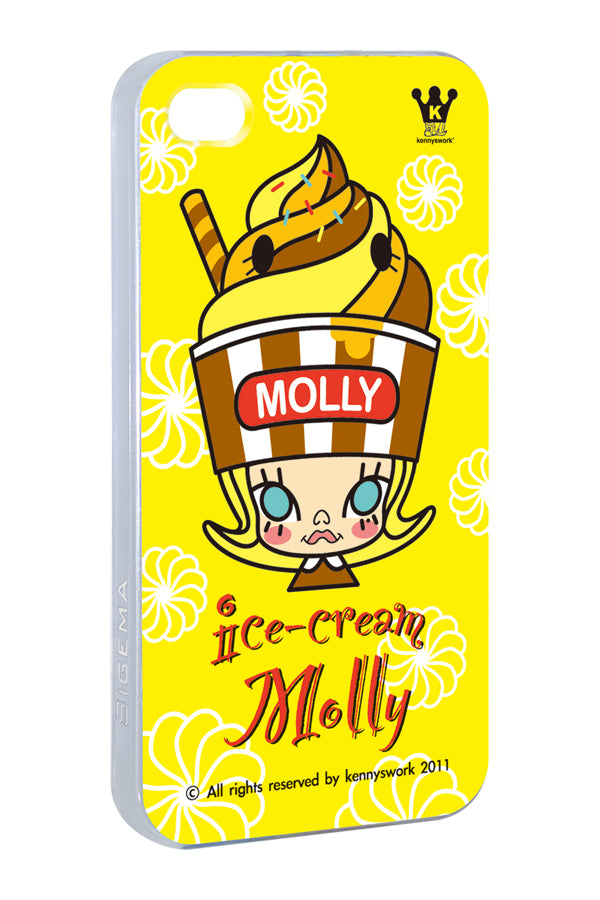 Sigema ProCase iPhone 4/4S Cover - Molly Ice-cream