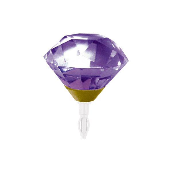 Decoppin Birthstone - Amethyst (February) - oo35mm