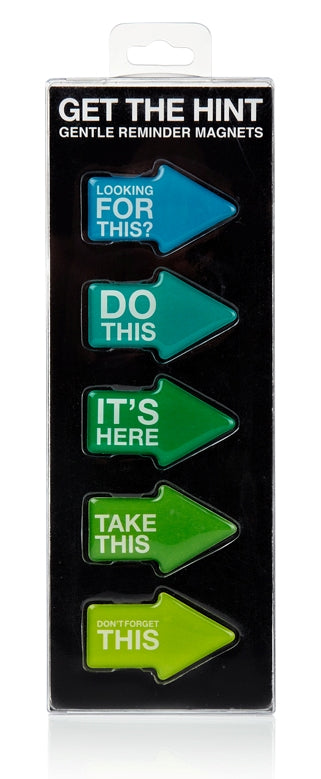 Get the Hint - Gentle Reminder Magnets - oo35mm