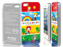 Sigema ProCase iPhone 5 Cover - To-Fu Oyako A Go! Go! - oo35mm