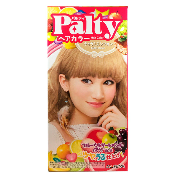 Palty Hair Color Tiramisu Chiffon