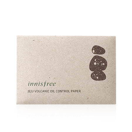 Innisfree Eco Beauty Tool Jeju Volcanic Oil Control Paper 50ea - oo35mm