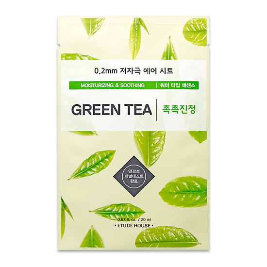 Etude House 0.2 Therapy Air Mask Green Tea - oo35mm