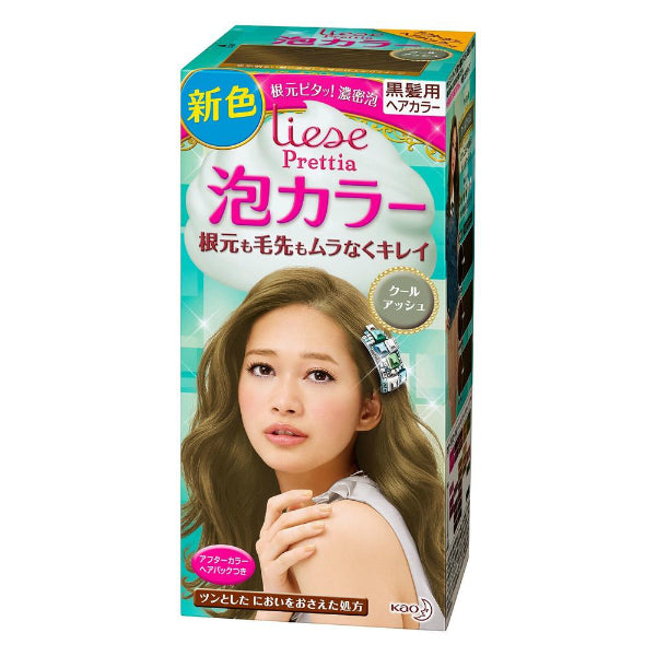Kao Prettia Bubble Hair Color Cool Ash - oo35mm