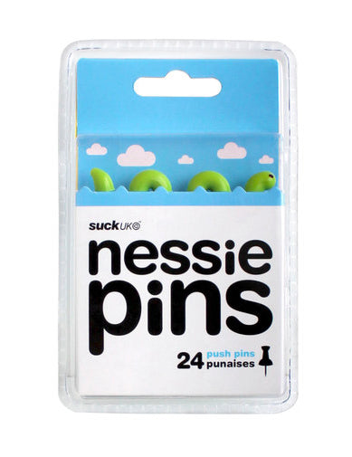Nessie Push Pins - oo35mm