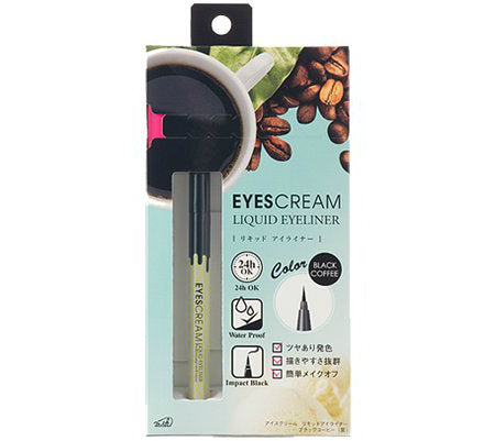 MSH Eyescream Liquid Eyeliner Black Coffee - oo35mm