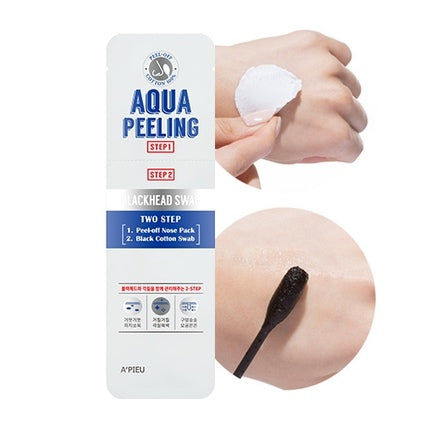 A'pieu Aqua Peeling Cotton Swab Two Step - oo35mm