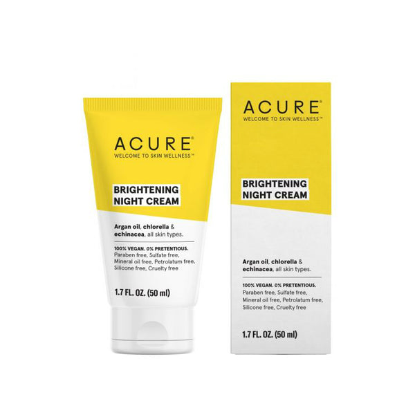 Acure Brightening Night Cream - oo35mm