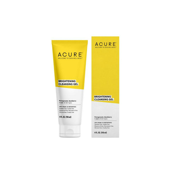 Acure Brightening Cleansing Gel - oo35mm
