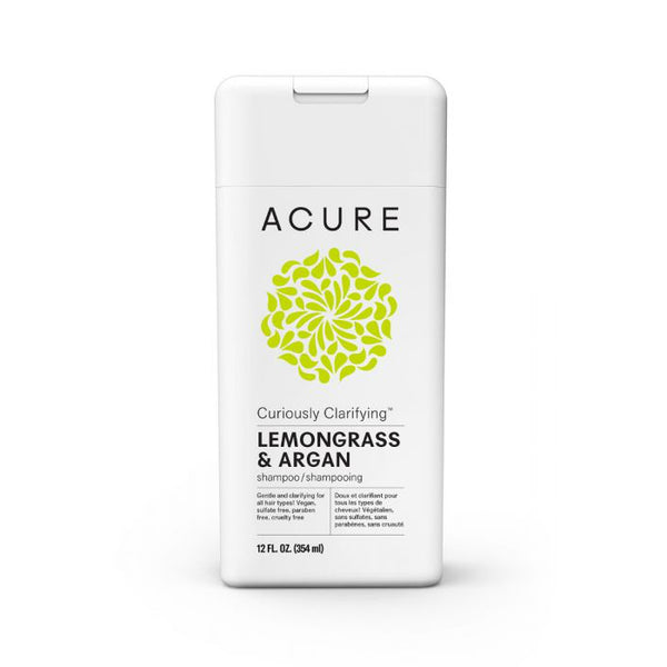 Acure Curiously Clarifying Lemongrass & Argan Shampoo - oo35mm