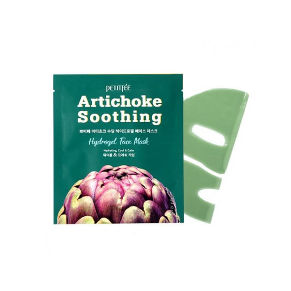 Petitfee Artichoke Soothing Hydrogel Face Mask - oo35mm