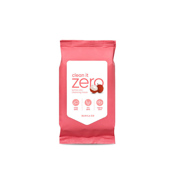 Banila Co. Clean it Zero Lychee Vita Cleansing Tissue