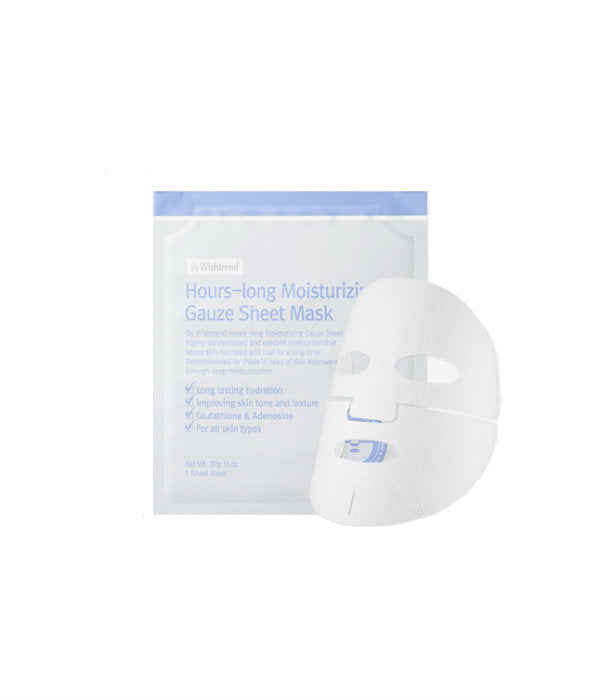 By Wishtrend Hours-long Moisturizing Gauze Sheet Mask - oo35mm