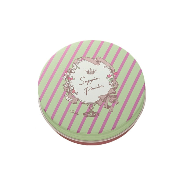 Club Suppin Pressed Powder White Floral Bouquet - oo35mm
