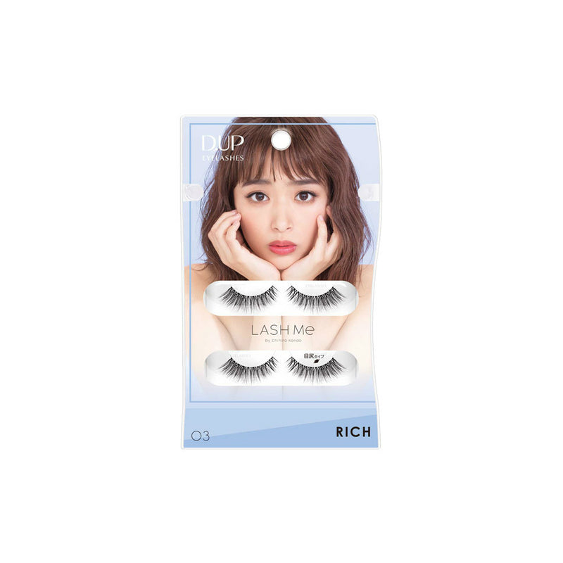 DUP Eyelashes Lash Me 03 (Rich) - oo35mm