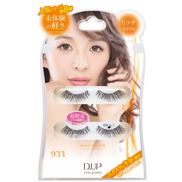 DUP Eyelashes Secret Line Air - 933 - oo35mm