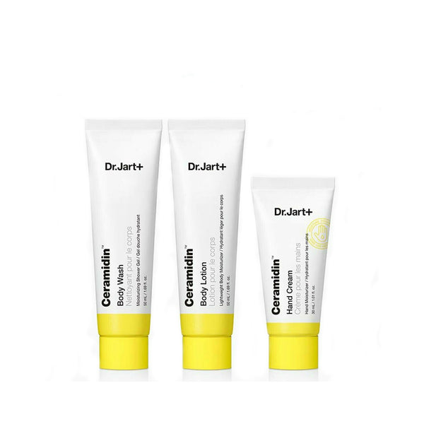 Dr. Jart Ceramidin 3-Step Body Moisturizing Kit