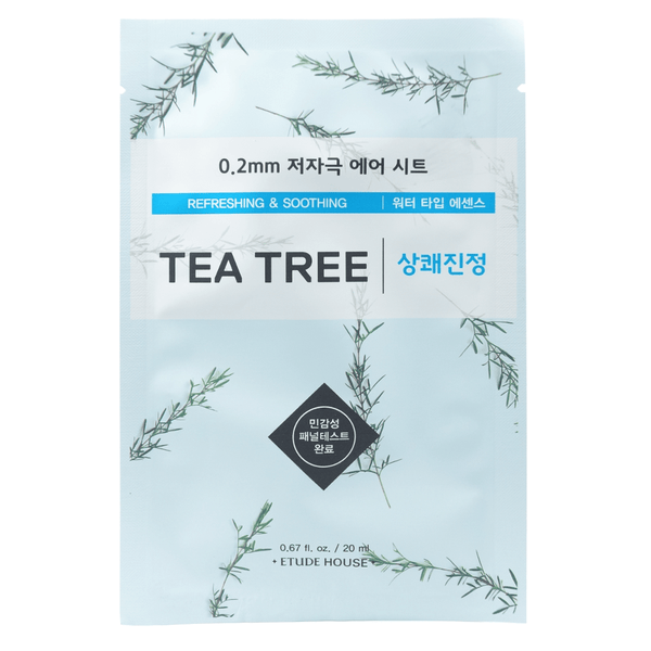 Etude House 0.2 Therapy Air Mask Tea Tree