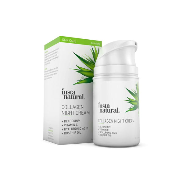 InstaNatural Collagen Night Cream - oo35mm