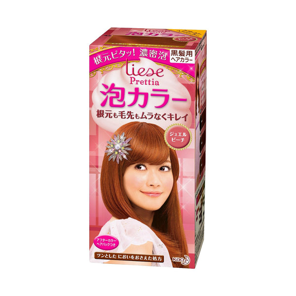 Kao Prettia Bubble Hair Color Jewel Peach '11