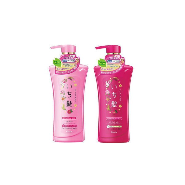 Kracie Ichikami Shampoo Conditioner Set (Revitalizing)