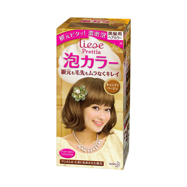 Kao Prettia Bubble Hair Color Candy Beige - oo35mm