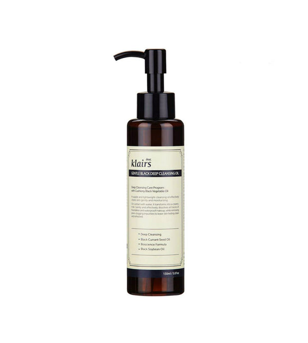 Klairs Gentle Black Deep Cleansing Oil - oo35mm