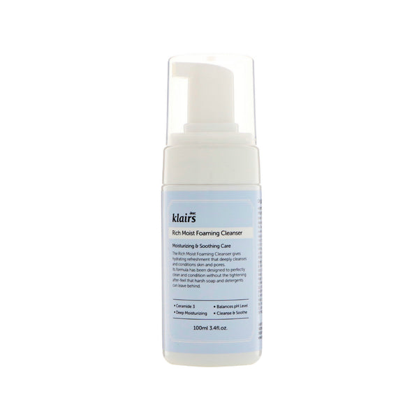 Klairs Rich Moist Foaming Cleanser - oo35mm