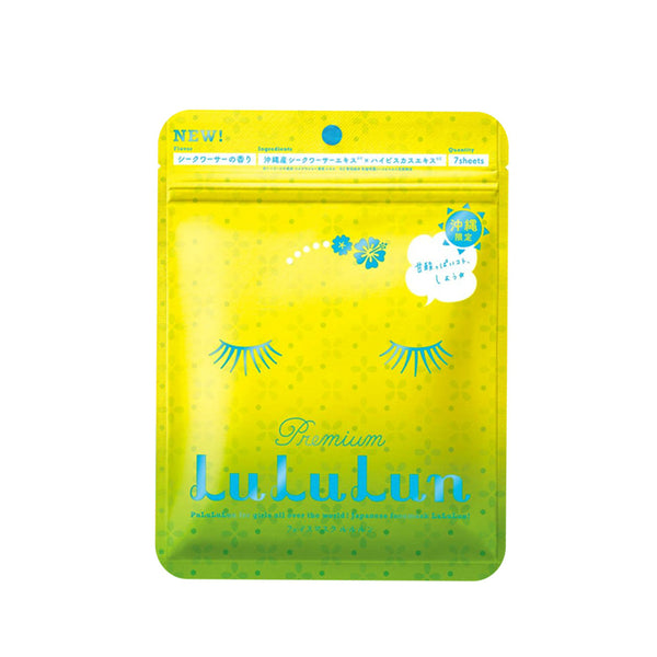 Lululun 7 Days Sheet Mask Premium Okinawa - oo35mm