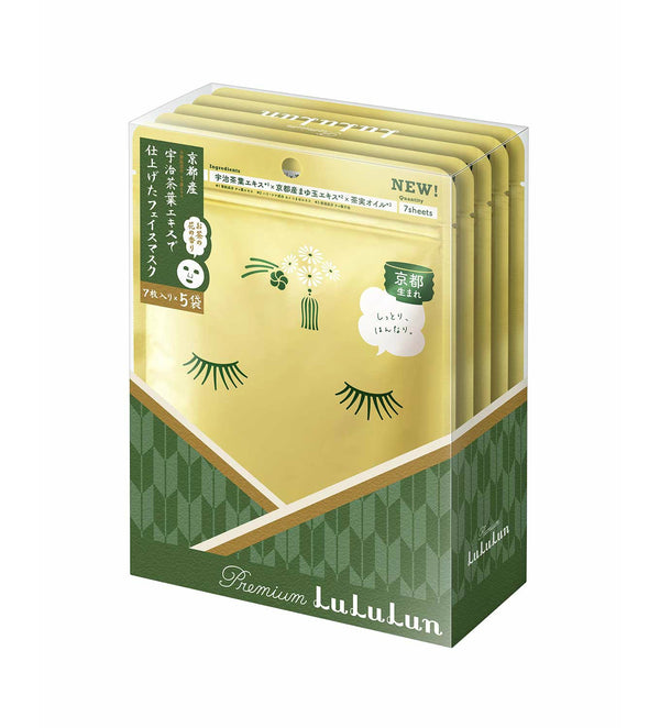 Lululun 7 Days Sheet Mask - Tea Flower (Kyoto) - oo35mm