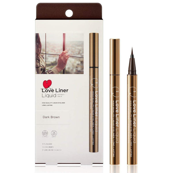 MSH Love Liner Liquid Eyeliner Dark Brown - oo35mm