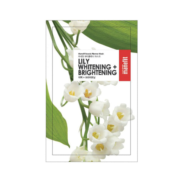 Manefit Lily Brightening + Brightening Mask - oo35mm