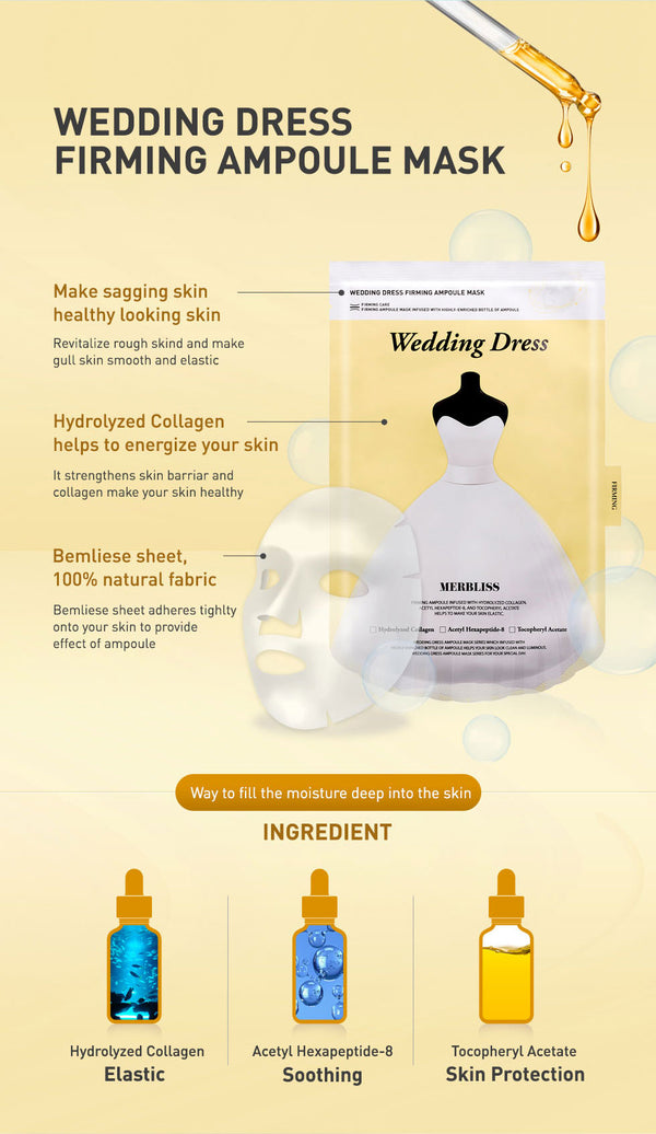 Merbliss Wedding Dress Firming Ampoule Mask