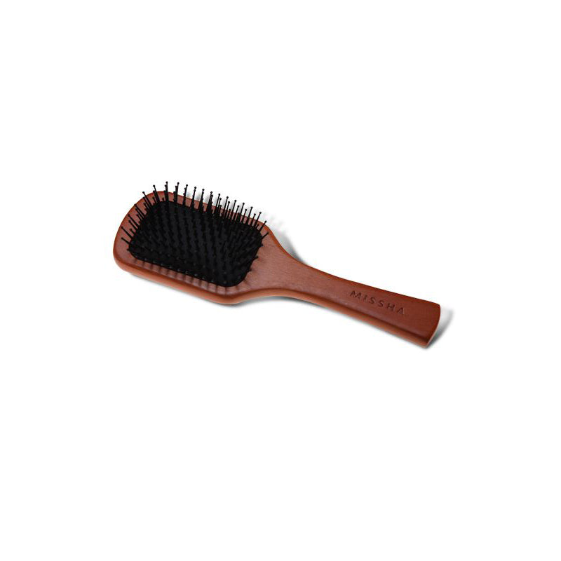 Missha Wooden Cushion Hair Brush (Medium) - oo35mm