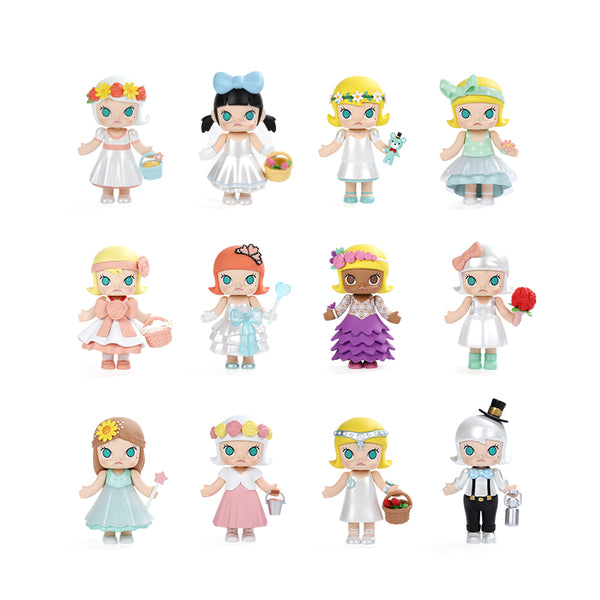 Pop Mart x Kennyswork Molly Wedding Flower Girl - oo35mm