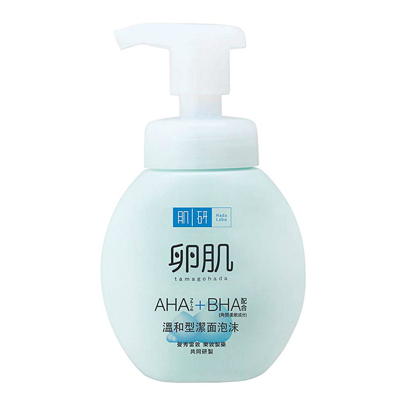 Rohto Hada Labo AHA/BHA Exfoliating Foaming Wash - oo35mm