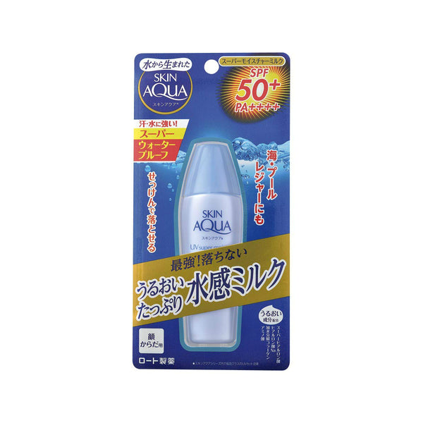 Rohto Skin Aqua UV Super Moisture Milk - oo35mm