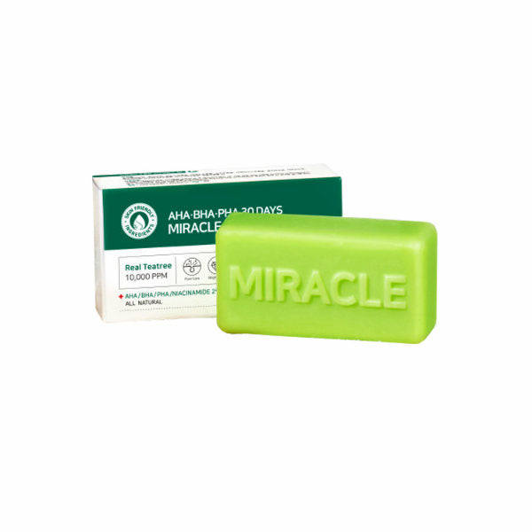 SOME BY MI AHA BHA PHA 30 Days Miracle Cleansing Bar - oo35mm