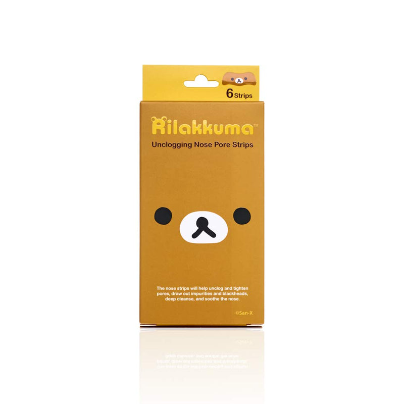 San-X Rilakkuma Unclogging Nose Pore Strip