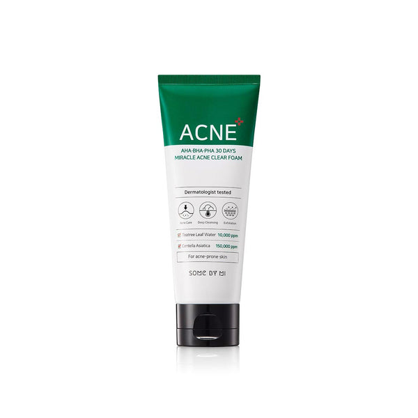 Some By Mi AHA.BHA.PHA 30 Days Miracle Acne Clear Foam - oo35mm
