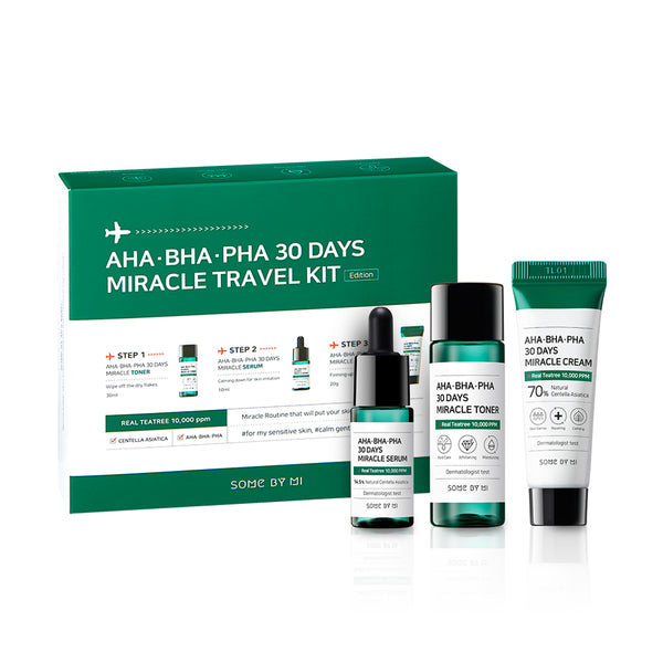 Some By Mi AHA.BHA.PHA 30 Days Miracle Travel Kit - oo35mm