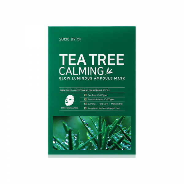 Some By Mi Tea Tree Calming Glow Luminous Ampoule Mask - oo35mm