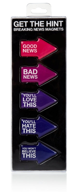 Get the Hint - Breaking News Magnets