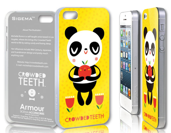Sigema ProCase iPhone 5 Cover - Hungry Panda (CT-20) - oo35mm