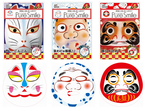 Pure Smile Art Mask Nippon 01