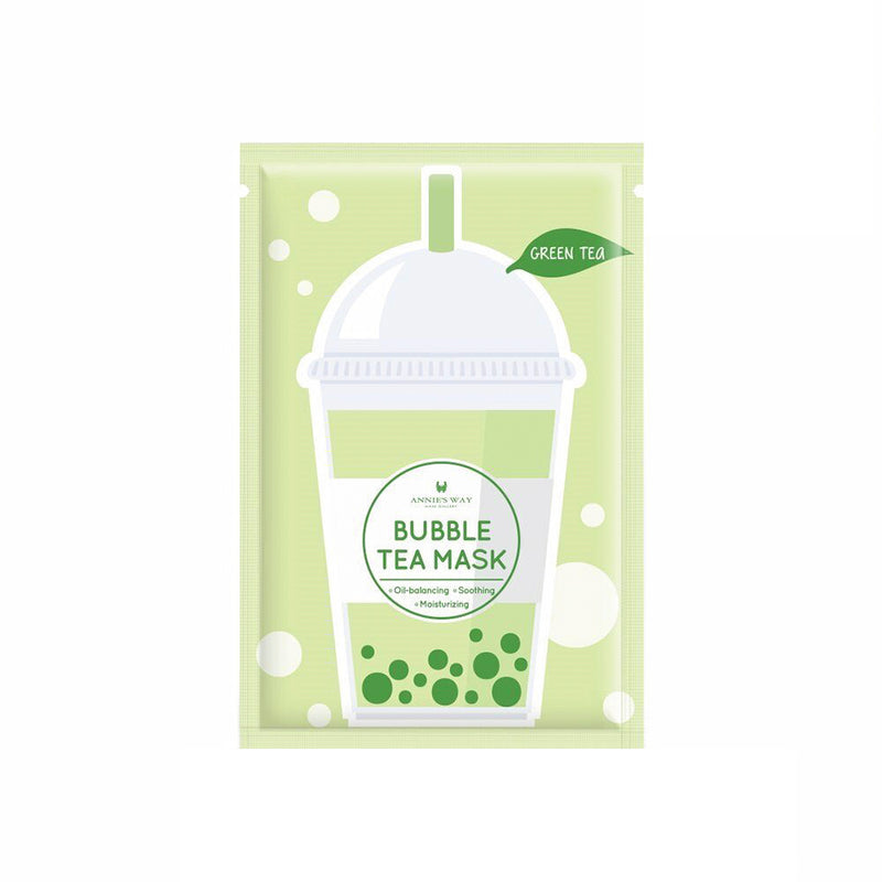 Annie's Way Bubble Tea Mask Green Tea - oo35mm