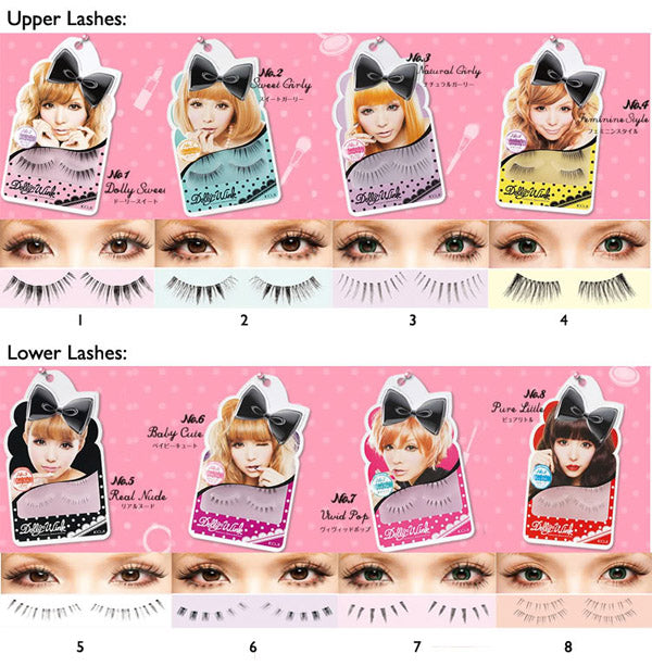 Koji Dolly Wink False Eyelashes #1 Dolly Sweet - oo35mm