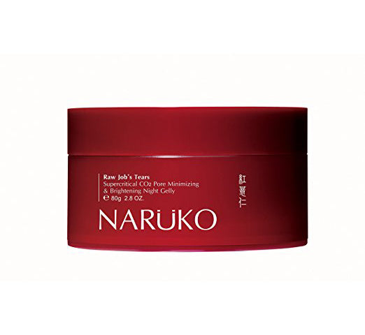 Naruko Raw Job's Tears Supercritical CO2 Pore Minimizing & Brightening Night Gelly