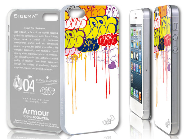 Sigema ProCase iPhone 5 Cover - Follow the Colors - oo35mm