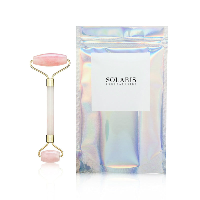 Solaris Rose Quartz Facial Roller